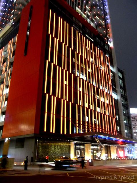 Taipei w hotel night visit sugared spiced for Boutique design hotel dubai