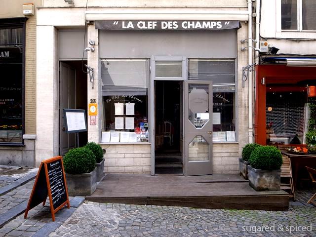 【Cindy的美食品賞】布魯塞爾 La Clef Des Champs