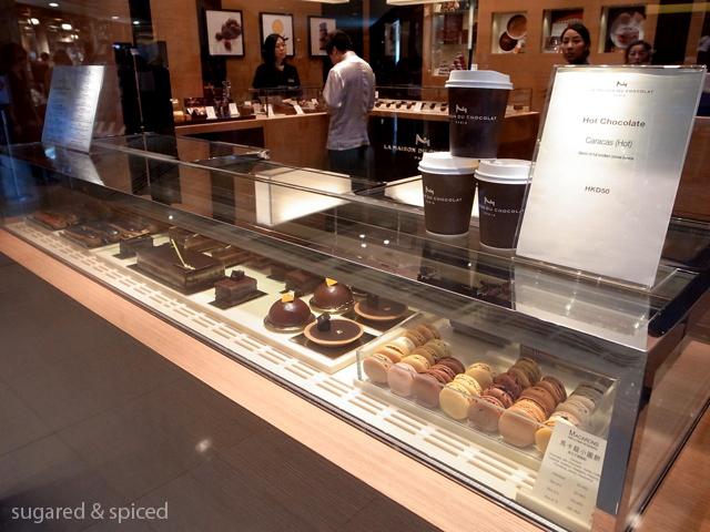 Hong kong la maison du chocolat sugared spiced for Macarons la maison du chocolat