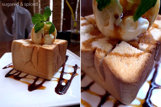 shanghai cafe & deli natural honey toast
