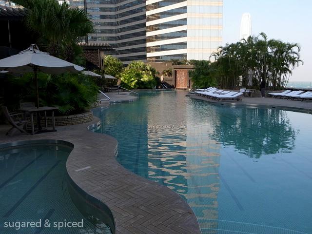 Hong kong plateau spa at the grand hyatt sugared spiced for Grand hyatt beijing swimming pool