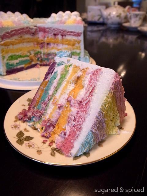 What Does Taro Birthday Cake Taste Like