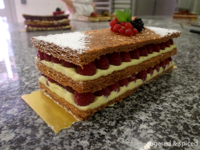 ferrandi week 5 mille feuille sugared spiced. Black Bedroom Furniture Sets. Home Design Ideas