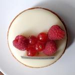 Des Gâteaux et du Pain - Cheesecake Framboise