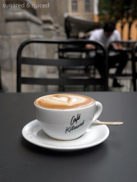 sugared & spiced - paris cafe kitsune