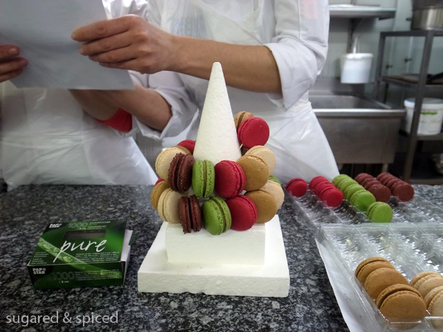 sugared & spiced - fauchon pastry kitchen snapshot