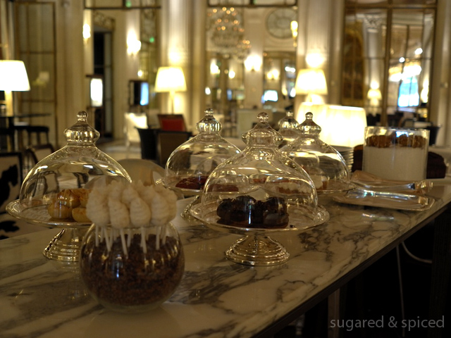 sugared & spiced - tea time at le meurice
