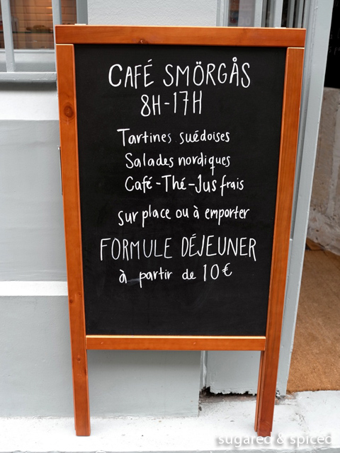 sugared & spiced - paris café smörgås