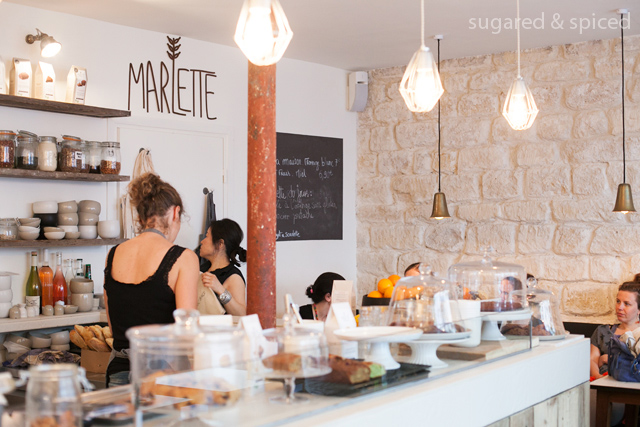 sugared & spiced - paris cafe marlette