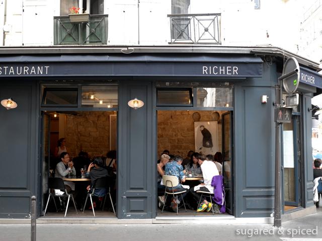 Restaurant Le Richer Paris