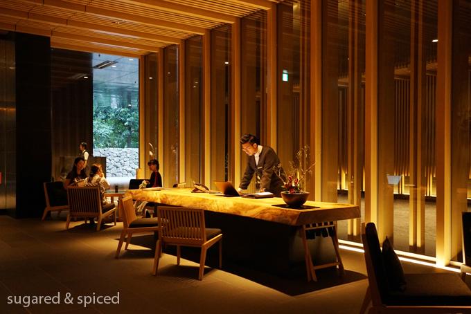 Aman Tokyo afternoon tea 東京安縵下午茶
